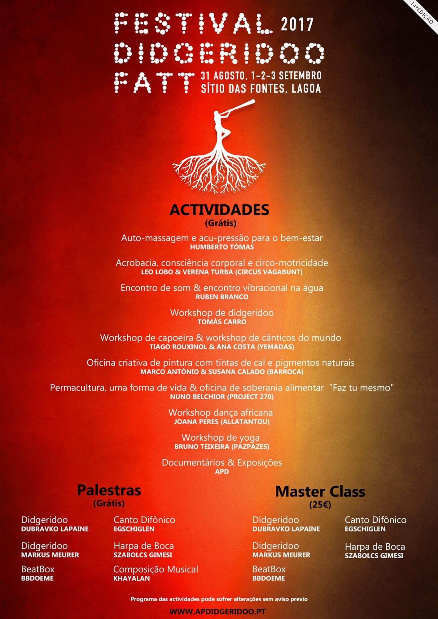 Barroca Festival-de-Didgeridoo_FATT_2017 Oficina Criativa no Festival de Didgeridoo - Sítio das Fontes Arte Atividades Parcerias  mediação cultural Fontes de Estômbar festival de didgeridoo FATT Algarve #experienciascriativas #barroca2017
