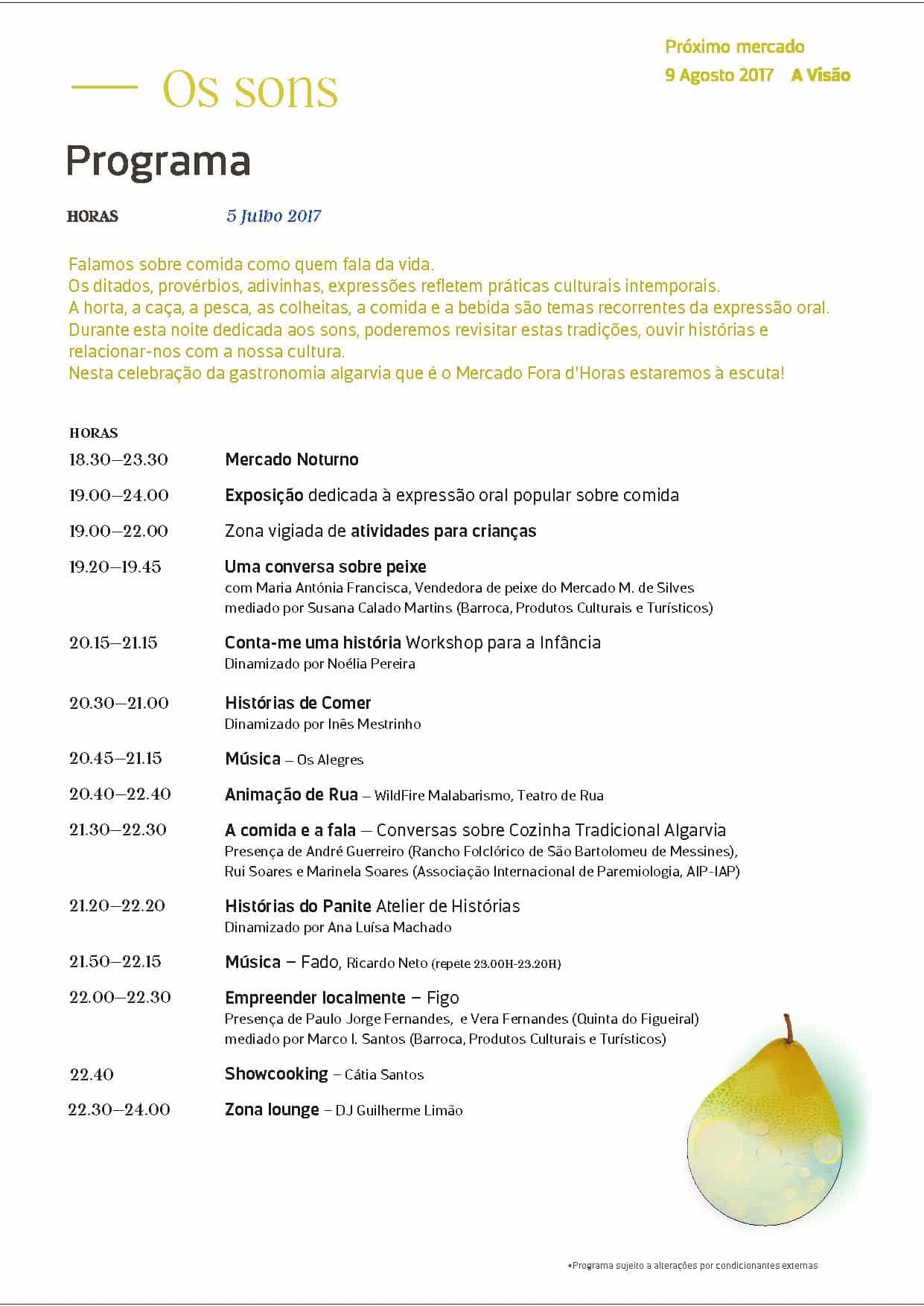 Barroca julhoA4-programa_small_Page_2 A Barroca no Mercado Fora d' Horas - Os Sons Arte Atividades Design Educação Parcerias  silves mercado fora d' horas mediação cultural design Algarve #experienciascriativas #barroca2017