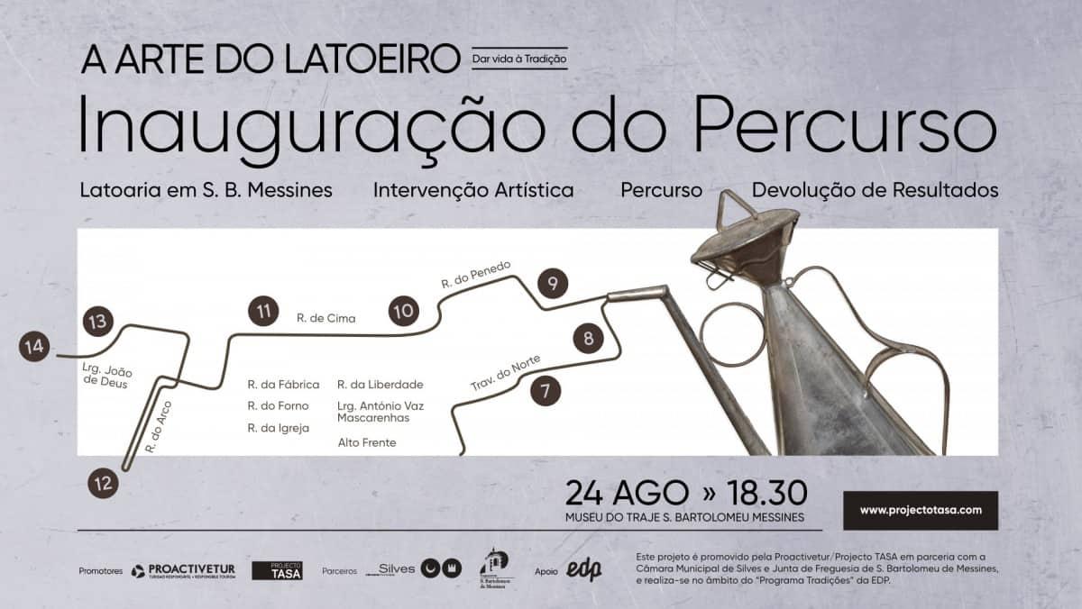 Barroca convite3 A Arte do Latoeiro em Messines Arte Design Parcerias Percursos  tradições locais ofícios tradicionais Messines latoaria design social barroca 2018 arte do latoeiro Algarve